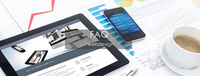 FAQ webdesign top