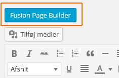 Fusion page builder
