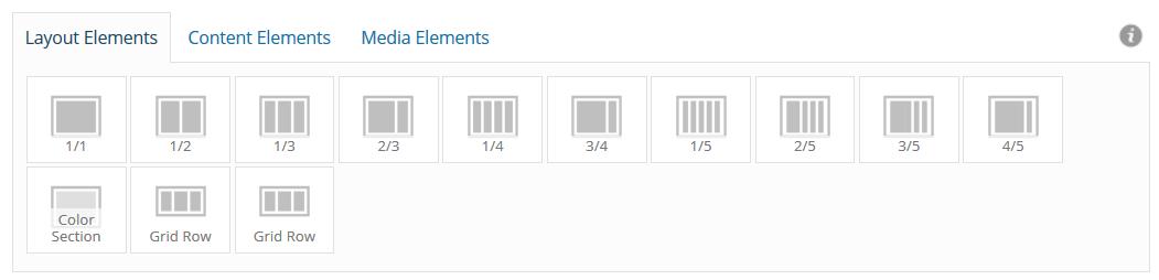 Avia Layout Elements