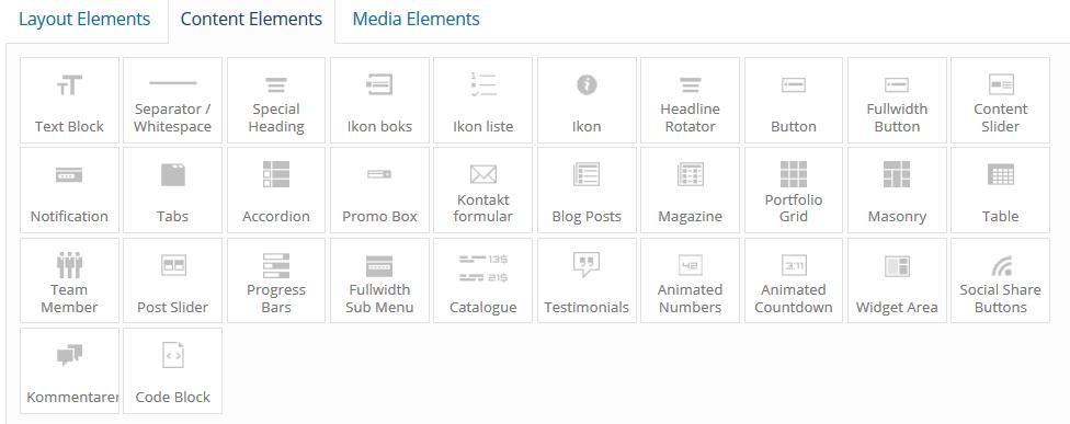 Avia Content Elements