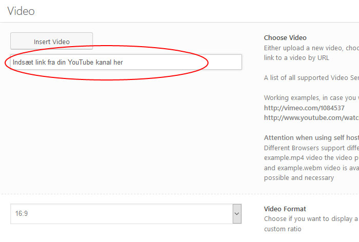 Indsæt YouTube video med WordPress plugin