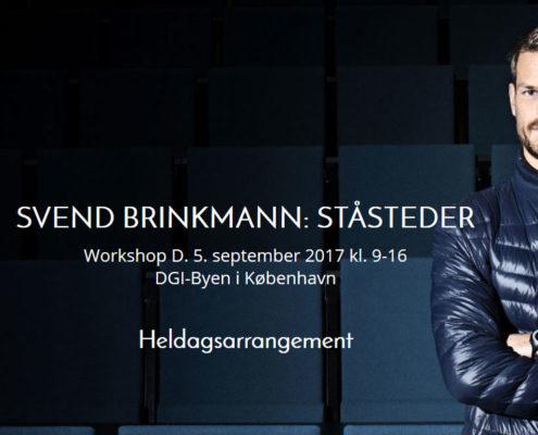 svend brinkmann workshop