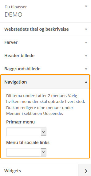 Tilpas layout på WordPress