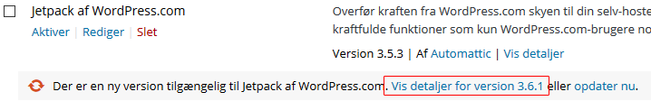 Tjek om plugin er klar til nyeste WordPress version