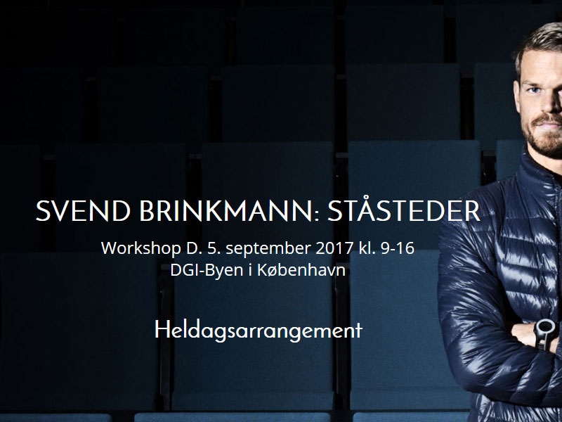svend brinkmann workshop